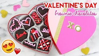 Download How to Make a Valentine's Day Brownie Box! Video