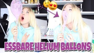Download Ich mache ESSBARE HELIUM BALLONS 😏😍🎈 | BibisBeautyPalace Video