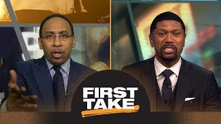 Download Stephen A. Smith and Jalen Rose have heated debate about Rockets vs. Warriors | First Take | ESPN Video