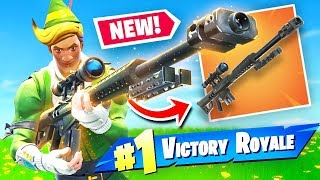 Download *NEW* HEAVY SNIPER RIFLE Gameplay In Fortnite Battle Royale Video