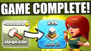 Download I HAVE OFFICIALLY COMPLETED CLASH OF CLANS! ✅ MAX LEVEL TOWN HALL 11! Video