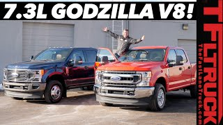 Download Just Arrived! New 2020 Ford F250 7.3L Gas V8 and Diesel Dually: All the New Features! Video