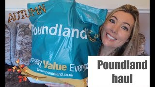 Download POUNDLAND HAUL | WHAT I BOUGHT IN POUNDLAND OCTOBER 2017 | DOLLAR STORE HAUL Video
