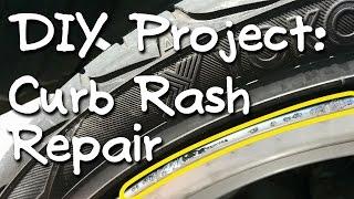 Download Curb Rash Rim Repair (silver wheels) Video