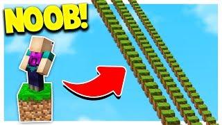 Download NOOB vs 4,000 MINECRAFT PARKOUR JUMPS! Video