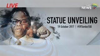 Download Unveiling of a life-size OR Tambo statue at the O.R. Tambo International Airport Video