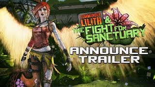 Download Borderlands 2: Commander Lilith & the Fight for Sanctuary Official Trailer Video