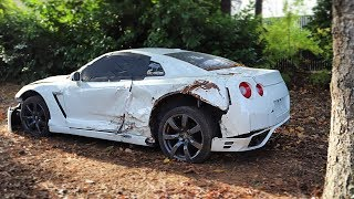 Download I Bought a REALLY TOTALED Nissan GT-R from a Salvage Auction & I'm going to Rebuild It! Video