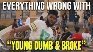 Download Everything Wrong With Khalid - ″Young Dumb & Broke″ Video