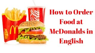 Download How to Order at Mcdonalds in English(如何在麥當勞點餐) Video