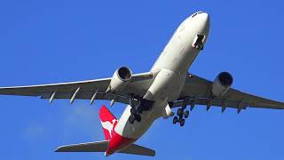 Download Strong Wind day at Sydney Airport - Runway 25 Video
