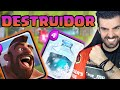 Download DESTRUIDOR DECK DE CORREDOR E GELO - CLASH ROYALE Video