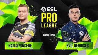 Download CS:GO - Evil Geniuses vs. Natus Vincere [Dust2] Map 2 - Group A - ESL Pro League Season 10 Finals Video