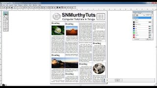 Download Pagemaker Tutorial in Hindi - Creating Newspaper Video