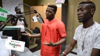 Download Olamide Baddoh Introduces New Label Signing Davolee [Naija 102.7 FM] Video