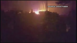 Download Man evacuated from Gatlinburg home shares video of flames rushing toward his property Video