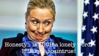 Download Hillary Clinton Song - ″Dishonesty″ Parody of Billy Joel's Honesty - Dana Kamide Video