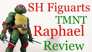 Download Bandai Tamashii Nations Teenage Mutant Ninja Turtles TMNT RAPHAEL Action Figure Review Toy Review Video
