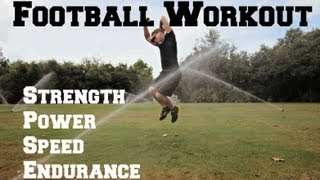 Download Football Conditioning Workout-20 Exercises to make you a BEAST on the field! Video