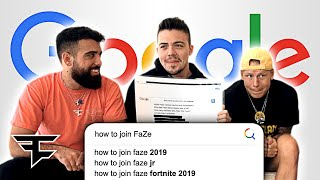 "Download ""How do you Join FaZe?"" (FaZe Google Autocomplete) Video"