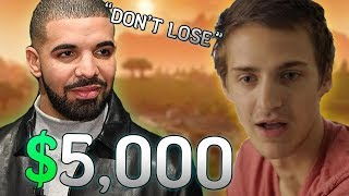 Download Drake Bets Ninja $5,000 He Won't Clutch The Win... Then This Happened! Video