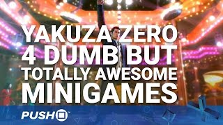 Download Yakuza 0 PS4: 4 Dumb But Totally Awesome Minigames | PlayStation 4 | Preview Video