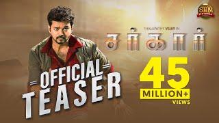 Download Sarkar - Official Teaser [Tamil] | Thalapathy Vijay | Sun Pictures | A.R Murugadoss | A.R. Rahman Video
