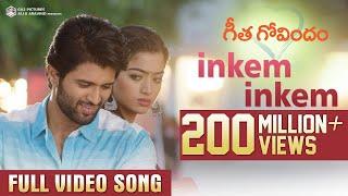 Download Inkem Inkem Full Video Song | Geetha Govindam | Vijay Deverakonda, Rashmika, Gopi Sunder Video