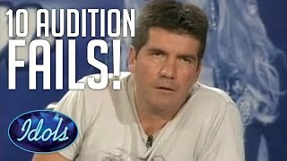 Download 10 Audition FAILS On AMERICAN IDOL | Idols Global Video