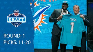 Download Picks 11-20 Recap | 2016 NFL Draft Video
