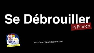 Download se débrouiller in English - French Verb - Learn French Video