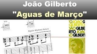 Download João Gilberto - ″Aguas de Março″ - Virtual Guitar Transcription by Gilles Rea Video
