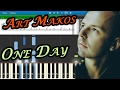 Download Art Makos - One Day [Piano Tutorial | Sheets | MIDI] Synthesia Video