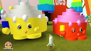 Download Giant Shopkins ! Let's Play Roblox Games with Cookie Swirl C Video