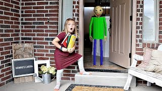 Download HOMESCHOOL?! Baldi's Basics at our House! Video