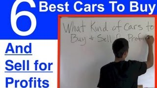 Download The 6 BEST Cars To Buy And Sell for Profit Video