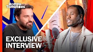 Download Jake Johnson Wanted to Get Weird with Nic Cage   'Spider-Man: Into the Spider-Verse' Interview Video