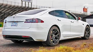Download Stock Tesla Bullies V8's at the DRAG STRIP + more! Video