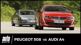 Download Nouvelle Peugeot 508 vs Audi A4 2018 : duel franco-allemand Video