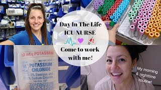 Download ICU Nurse Day in the Life | Come to work with me + my morning and night time routine! Video