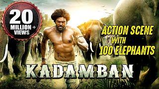 Download Kadamban Best Action Scene   100 REAL ELEPHANTS   Best Action Scene Ever! Video