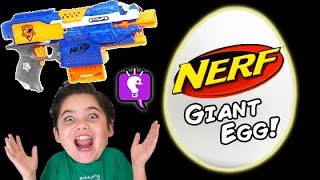 Download NERF Surprise EGG Toys Compilation Show by HobbyKidsTV Video