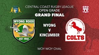 Download 2019 Central Coast RL - Open Grade Grand Final - Wyong Roos v Kincumber Colts Video