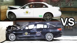 Download 2017 BMW 5 Series Vs 2017 Mercedes E-Class - Crash Test Video