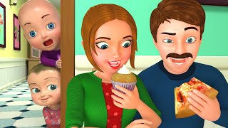 Download Baby with Papa & Mom Song | BillionSurpriseToys Nursery Rhyme & Kids Songs Video