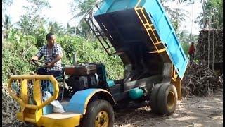 Download DUMP TRUK MINI ALAT ANGKUT TEBU PG KREBET BARU Video
