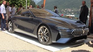 Download 2018 BMW 8-Series Concept WORLD PREMIERE - Engine Start Sound, Moving & Overview Video