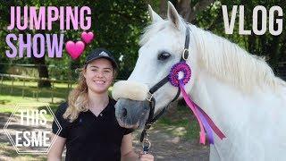 Download Show Vlog | Felbridge Showjumping | This Esme Video