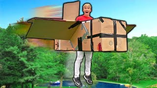 Download FLYING BOX FORT AIRPLANE!! 📦✈️ Video
