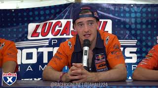 Download Racer X Films: Ironman 2017 450 Press Conference | Jeffrey Herlings, Marvin Musquin, Blake Baggett Video